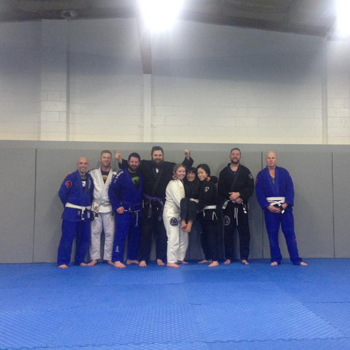 Summit jiu jitsu training fun