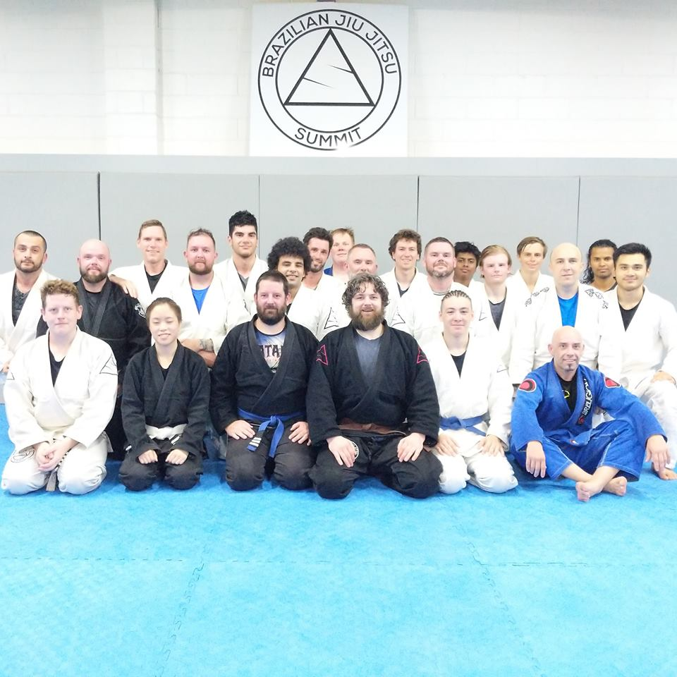 Summit Jiu Jitsu training